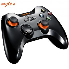 PXN - 9613 Wireless Bluetooth თამაშის Controller Portable Handle Bracket Gamepad for PC / Tablet / Android Smartphone / TV Box