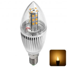 YouOKLight E14 28 SMD 2835 LED- ები 5W 450LM 3000K LED Lights Translucent Flamed სანთელი Bulb