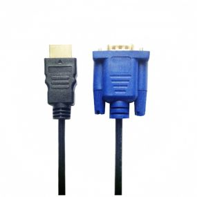 Yeshold HDMI to VGA Adapter Connector Cable for Gold კაცი 1.8m