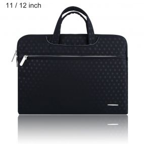 SSIMOO S818 2 in 1 Dot Pattern Laptop Bag Tablet Zipper ჩანთა Sleeve for MacBook 11/12 inch