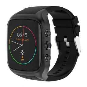 Ourtime X01 AIR 3G Smartwatch ტელეფონი 1.54 inch Android 5.1 MTK6580 1.3GHz Quad Core 8GB ROM 2.0MP კამერა GPS Bluetooth WiFi