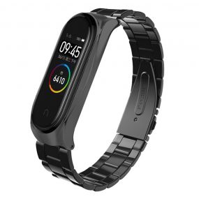 მყარი Replacement Steel Wristband for Xiaomi Mi Band 4