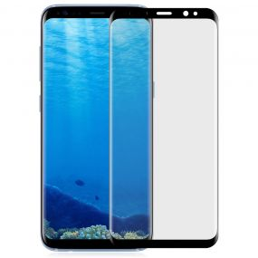 Angibabe 3D Arc Ultra-thin PET Electroplating ეკრანზე ფილმი Protector for Samsung Galaxy S8 Plus