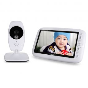 7.0 inch Wireless Night Vision Dual View Video Baby Monitor